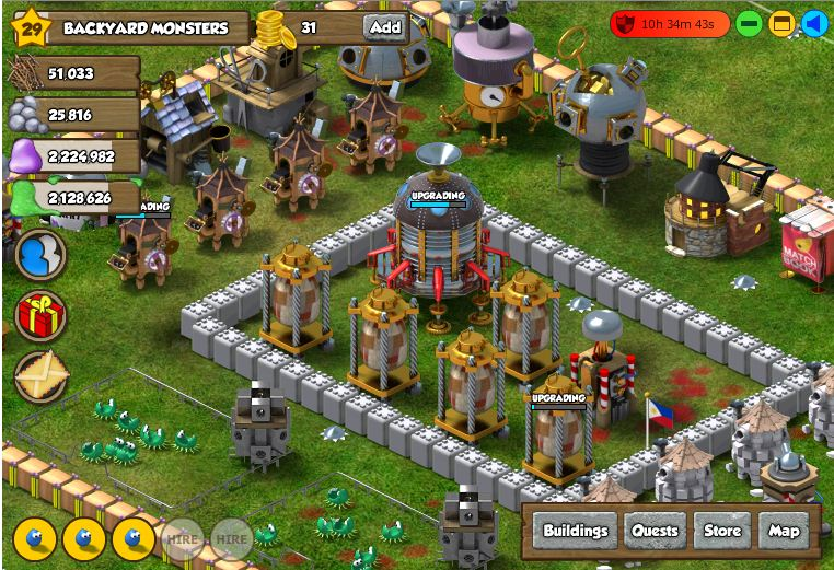Backyard Monsters On Android