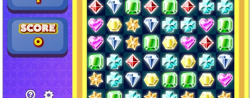 Gems Swap – Simple Gem Swapping Puzzle