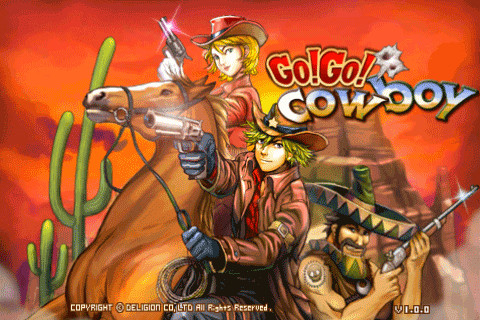 GoGo! Cowboy – Western Style iPhone Game for Shooters