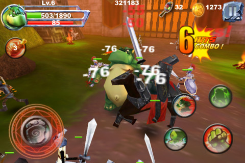 Monster Fight Pro – Exciting Adenture iOS Game with Monsters