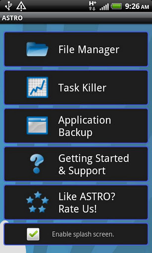 ASTRO - Effective Android File Manager App - Apps4review