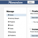 Momentum – Efficient Goal Management Web App