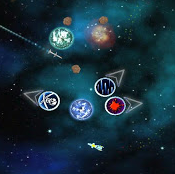 Galactic : Space Based Physics Puzzle Game