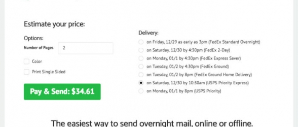 """Send Overnight Mail"" – Easy Mailing Facility !"