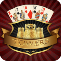 TOWERS TRIPEAKS: CLASSIC PYRAMID SOLITAIRE- BE THE CHAMPION!