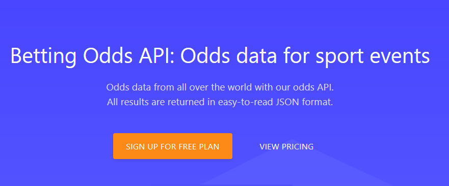 BETTING ODDS API