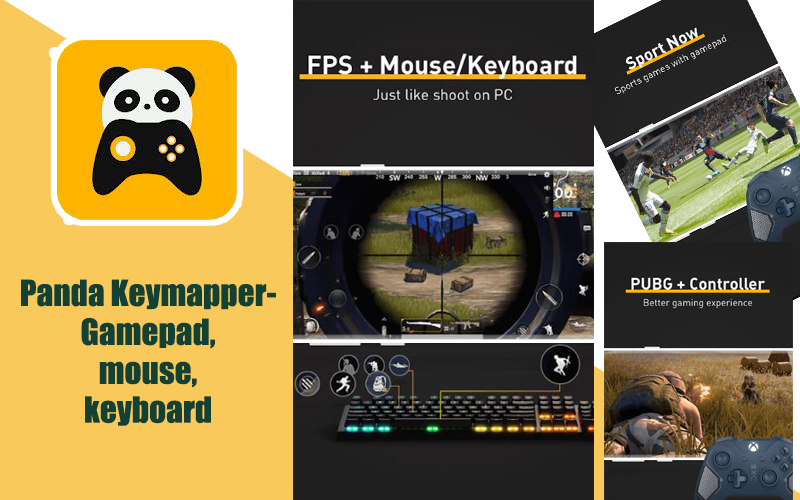 Panda Keymapper – Gamepad,mouse,keyboard
