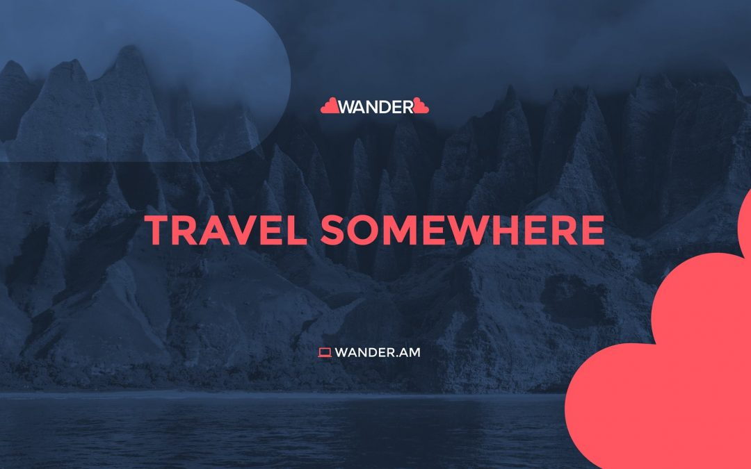 Wander – Explore the World the Way You Want